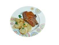 Pork baked  Loins Royalty Free Stock Photos
