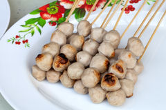 Pork balls Stock Photography