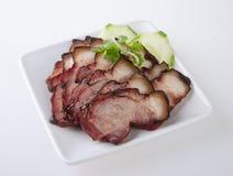 Pork. BBQ Pork and Crispy Pork Royalty Free Stock Photo