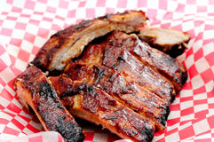 Pork bbq ribs Stock Images