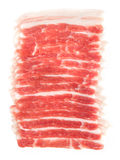 Pork belly slices Stock Images