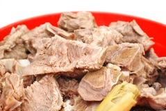 The pork bone chops Stock Photos