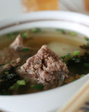 Pork bone soup Stock Photography