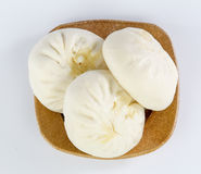 Pork bun in a bowl Royalty Free Stock Images