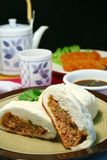 Pork buns Stock Photos