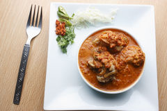 Pork Chilly curry a non-veg dish from Goa, India Royalty Free Stock Image