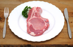 Pork chop Royalty Free Stock Photography