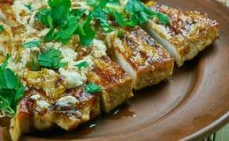 Pork Chop Agrodolce Stock Images