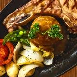 Pork chop. Royalty Free Stock Photography