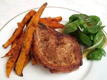 Pork Chop Dinner stock photo