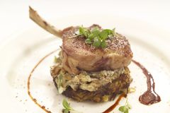 Free Pork Chop For Dinner Stock Photo - 25132100
