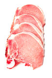 Pork chop meat Stock Image