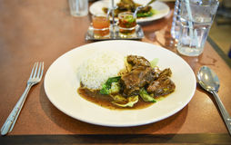 Pork Chop thai food Royalty Free Stock Photography