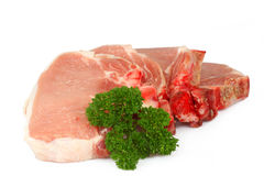 Pork chops Stock Photography