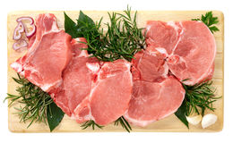 Pork chops Stock Images