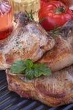 Pork chops Royalty Free Stock Photos