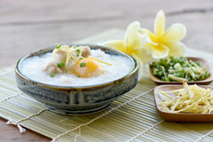 Pork Congee. Royalty Free Stock Photos