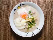 Pork Congee royalty free stock photo