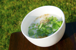 Pork Congee Royalty Free Stock Photography