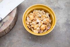 Pork crackling, Kak Moo Royalty Free Stock Image