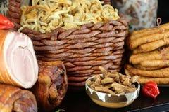 Pork cracklings Royalty Free Stock Photos