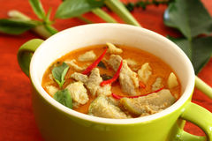 Pork curry green. Stock Images