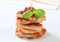 Pork cutlets Royalty Free Stock Photos