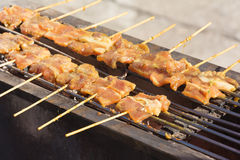 Pork delicious. When eaten with rice royalty free stock photography