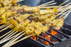Pork is delicious in Thailand. Stock Photo