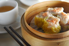 Pork dim sum. Steam Pork dumpling dim sum royalty free stock photo
