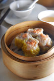 Pork dim sum. Chinese Pork dumpling dim sum stock photo