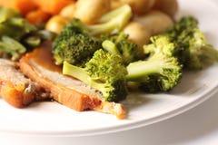 Pork Dinner Royalty Free Stock Image