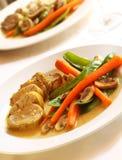 Pork Dinner Stock Photos