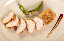 Pork dish Royalty Free Stock Photography