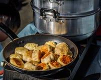 Pork Dumplings Royalty Free Stock Photography