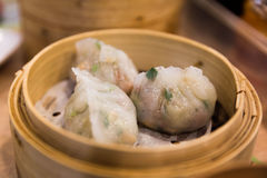 Pork Dumplings Stock Images