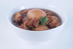 Pork and eggs stewed Royalty Free Stock Photography