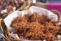 Pork fibre stock photo