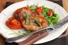 Pork fillet Royalty Free Stock Images