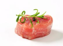 Pork Fillet Medallion Royalty Free Stock Image