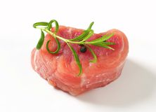 Pork Fillet Medallion Stock Photo