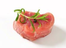 Pork Fillet Medallion Stock Photo