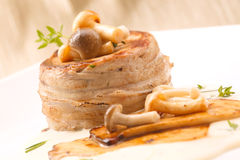 Pork Fillet Mignon  steak Stock Photos