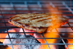 Pork fire Royalty Free Stock Photography