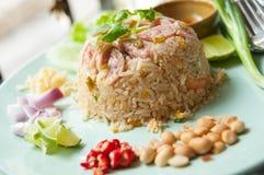 Pork fried rice Stock Photo