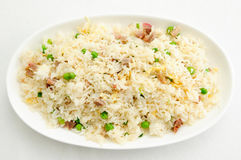 Pork fried rice Royalty Free Stock Photography