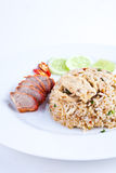 Pork Fried Rice1 Royalty Free Stock Photo