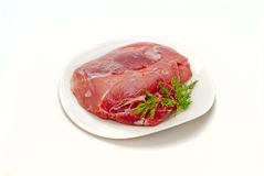 Pork gammon for cooking Stock Image
