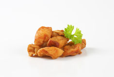 Pork greaves Stock Images