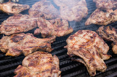 Pork grill Royalty Free Stock Image